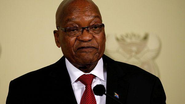 رئيس جنوب إفريقيا السابق يمثل أمام المحكمة بتهم تتعلق بالفساد