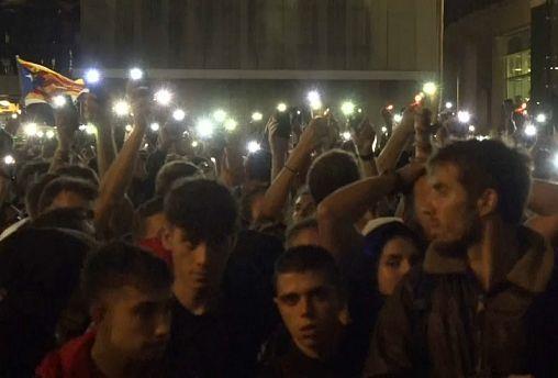 Catalan activist condemns severity of sentences for separatists as anti-democratic