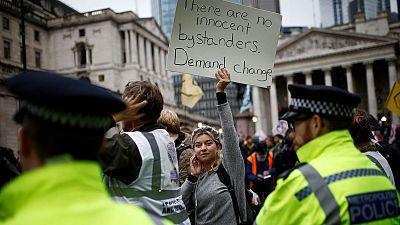 Extinction Rebellion protests, London October 2019