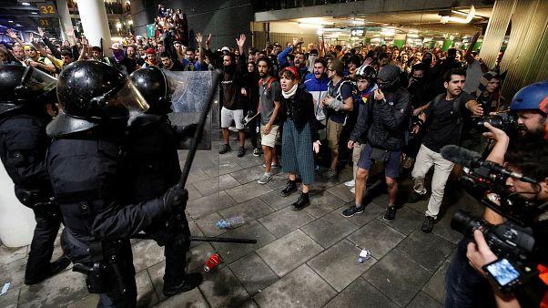 Барселона готовится к новым акциям гражданского неповиновения