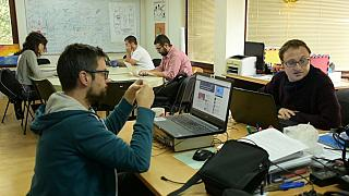 capture d'écran reportage Euronews