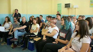 Fuga de cerebros de Macedonia del Norte