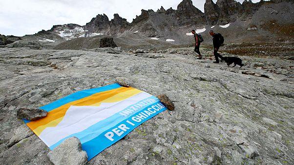 İsviçre'de buzullar 5 yılda yüzde 10 azaldı