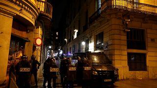 Tüntetés és összecsapások Barcelonában