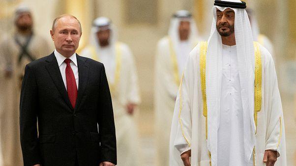 بوتين في أبوظبي ومحمد بن زايد يصف الزيارة بالتاريخية