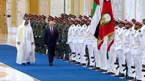 Президент РФ Владимир Путин совершает госвизит в ОАЭ