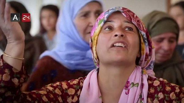 مشکلات آوارگان کرد سوری در قاب تصویر