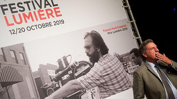 Daniel Auteuil lors de la soirée d'ouverture du Festival Lumière 2019.