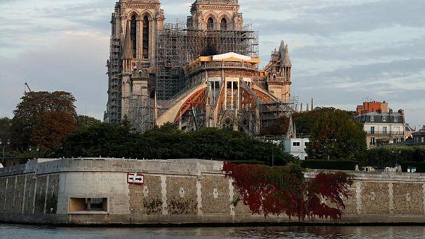 """La restauración de Notre Dame, seis meses después del incendio: """"Calidad en lugar de rapidez"""""""
