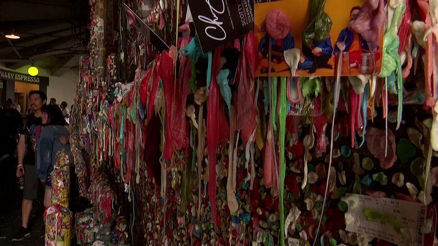 «دیوار آدامس» سیاتل؛ از زبالهدانی تا اثری هنری
