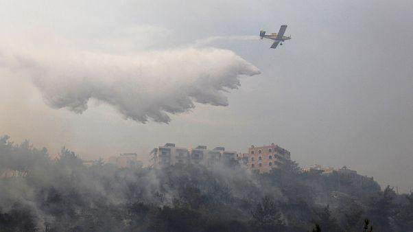 Orman yangınlarıyla mücadele eden Lübnan Türkiye'den yardım istedi