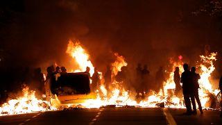 EN IMÁGENES: La noche que Barcelona ardió