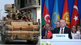 هشتمین روز حمله ترکیه به شمال سوریه؛ ارتش روسیه با گذر از فرات به حوالی کوبانی رسید