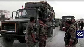 ارتش سوریه در راه کوبانی
