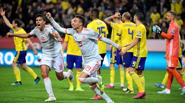 إسبانيا تلحق بركب المتأهلين لأمم أوروبا بعد تعادل قاتل مع السويد
