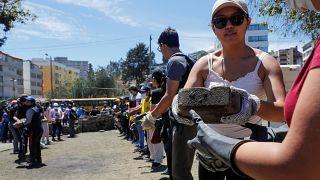 Ecuador cura sus heridas y cuantifica los destrozos de once días de crisis