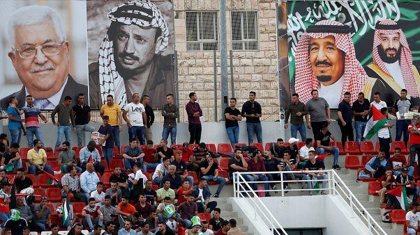 Filistinliler Dünya Kupası heyecanını doyasıya yaşadı