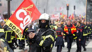 Tűzoltók csaptak össze rendőrökkel Párizsban