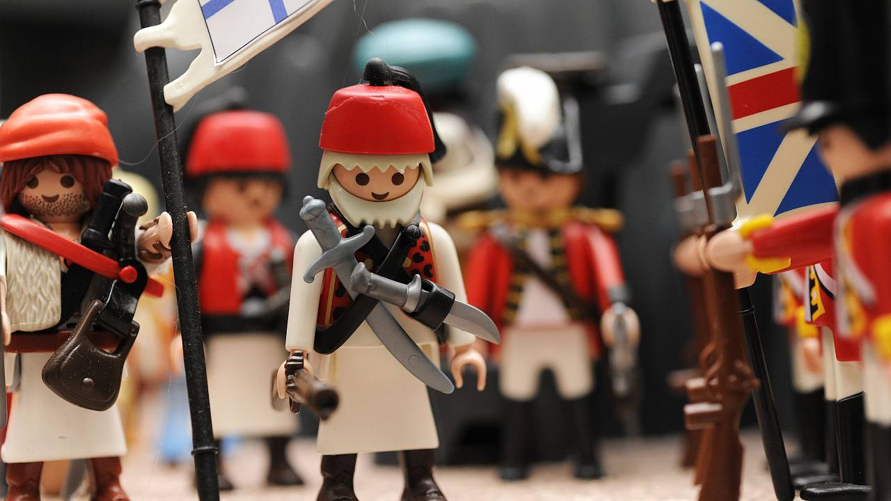 1300 Playmobil αποτυπώνουν ευφάνταστα την Επανάσταση του 1821
