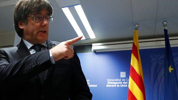 درخواست اسپانیا از بلژیک برای بازداشت رهبر فراری کاتالونیا