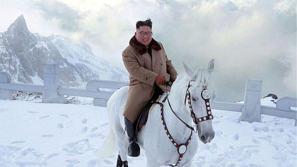 کیم سوار بر اسب در کوه مقدس؛ آیا تصمیم مهمی در راه است؟