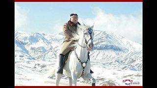 La cabalgada épica de Kim Jong-un