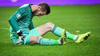 مدرب إسبانيا يكشف عن حجم إصابة حارس مانشستر يونايتد دي خيا