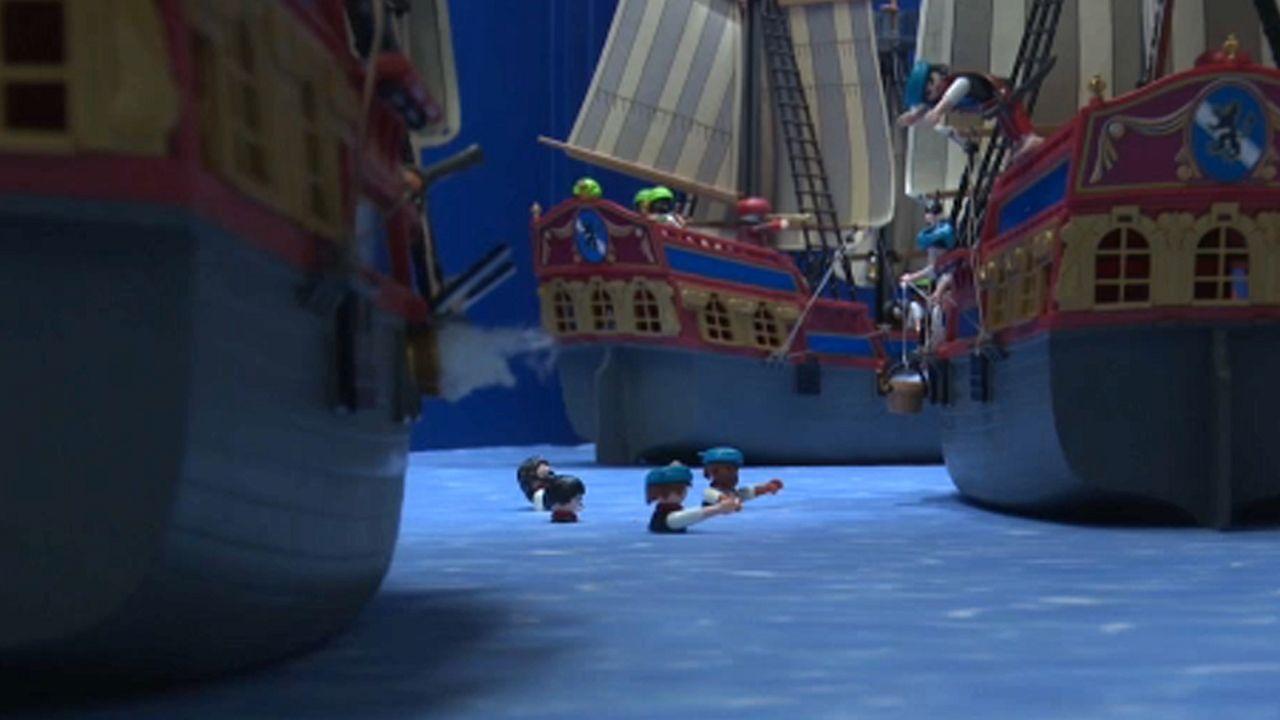 Contar la guerra de independencia griega con Playmobils