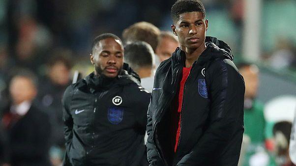 Irkçı saldırıya marzu kalan İngiliz futbolcular
