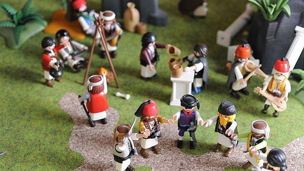 Watch: Playmobil brings Greek Revolution to life