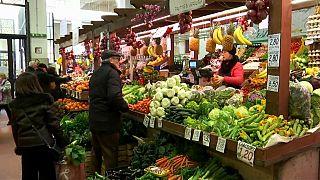Inflação da zona euro revista em baixa