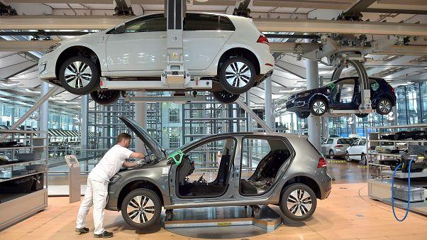 В Европе резко выросли продажи автомобилей