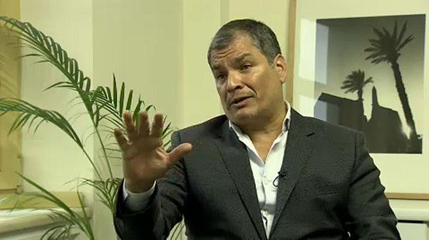 Rafael Correa no descarta presentarse a las elecciones