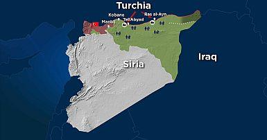 Cartina Mondo Turchia.Turchia In Siria La Mappa Della Prima Settimana Dell Operazione Fonte Di Pace Euronews