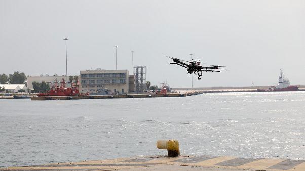 Έλεγχος καυσαερίων των πλοίων με χρήση drone
