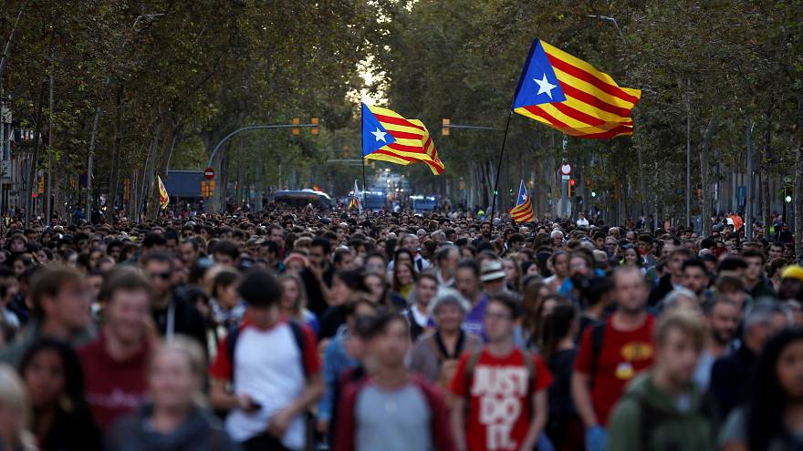 """Catalogna, via alle """"Marce per la Libertà"""""""