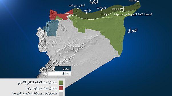 بعد أسبوع على العملية العسكرية التركية.. كيف تبدو خارطة الشمال السوري؟