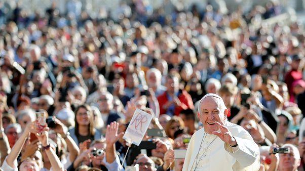 Életmódváltást szorgalmaz Ferenc pápa