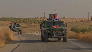 Offensive turque en Syrie : les Russes patrouillent autour de Minbej