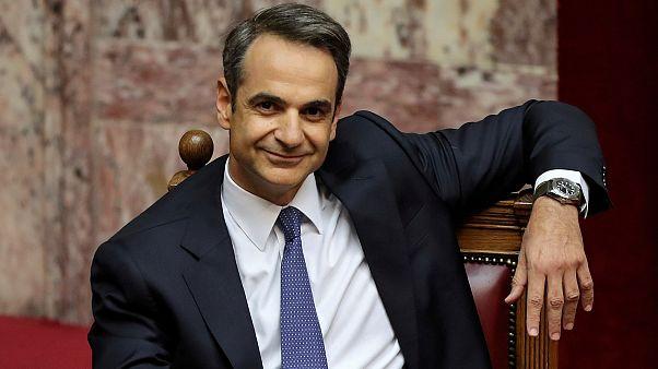 Yunanistan Başbakanı Mitsotakis