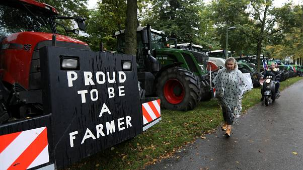 Dutch farmers protest 'unfair climate goals'