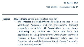 О чем договорились ЕС и Великобритания?