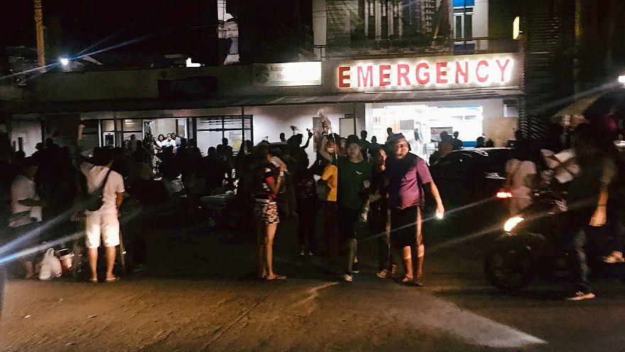 زلزله ۶.۴ ریشتری در فیلیپین؛ سه نفر کشته و دهها تن زخمی شدند