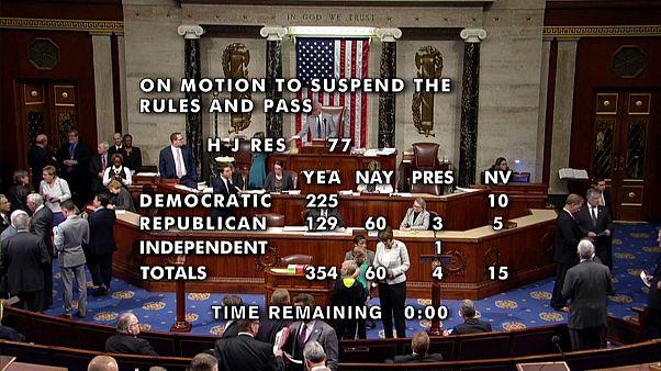 مجلس النواب الأميركي يدعم بأكثرية ساحقة مشروع قانون يدين قرار ترامب في سوريا