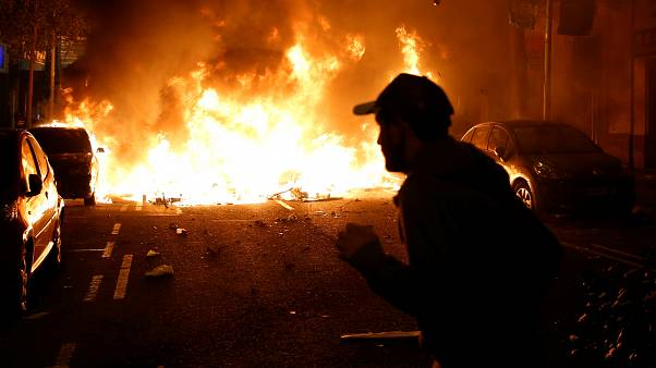 Tercer día de disturbios en Cataluña: Quim Torra llama a la calma