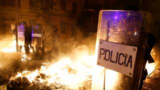 El rostro más violento del independentismo catalán
