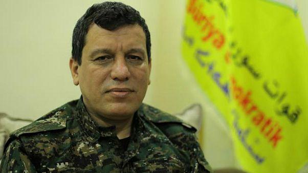 مظلوم عبدی، فرمانده ارتش دمکراتیک سوریه