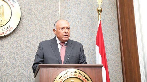سامح شكري، وزري الخارجية المصري