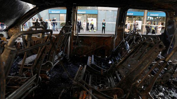 La violencia de los CDR asusta a muchos catalanes