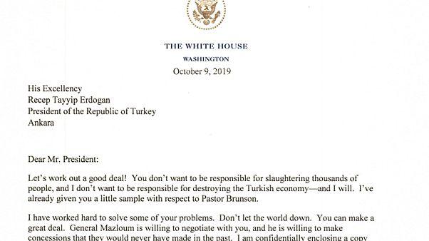 Sosyal medya Trump'ın Erdoğan mektubuna nasıl tepki verdi?